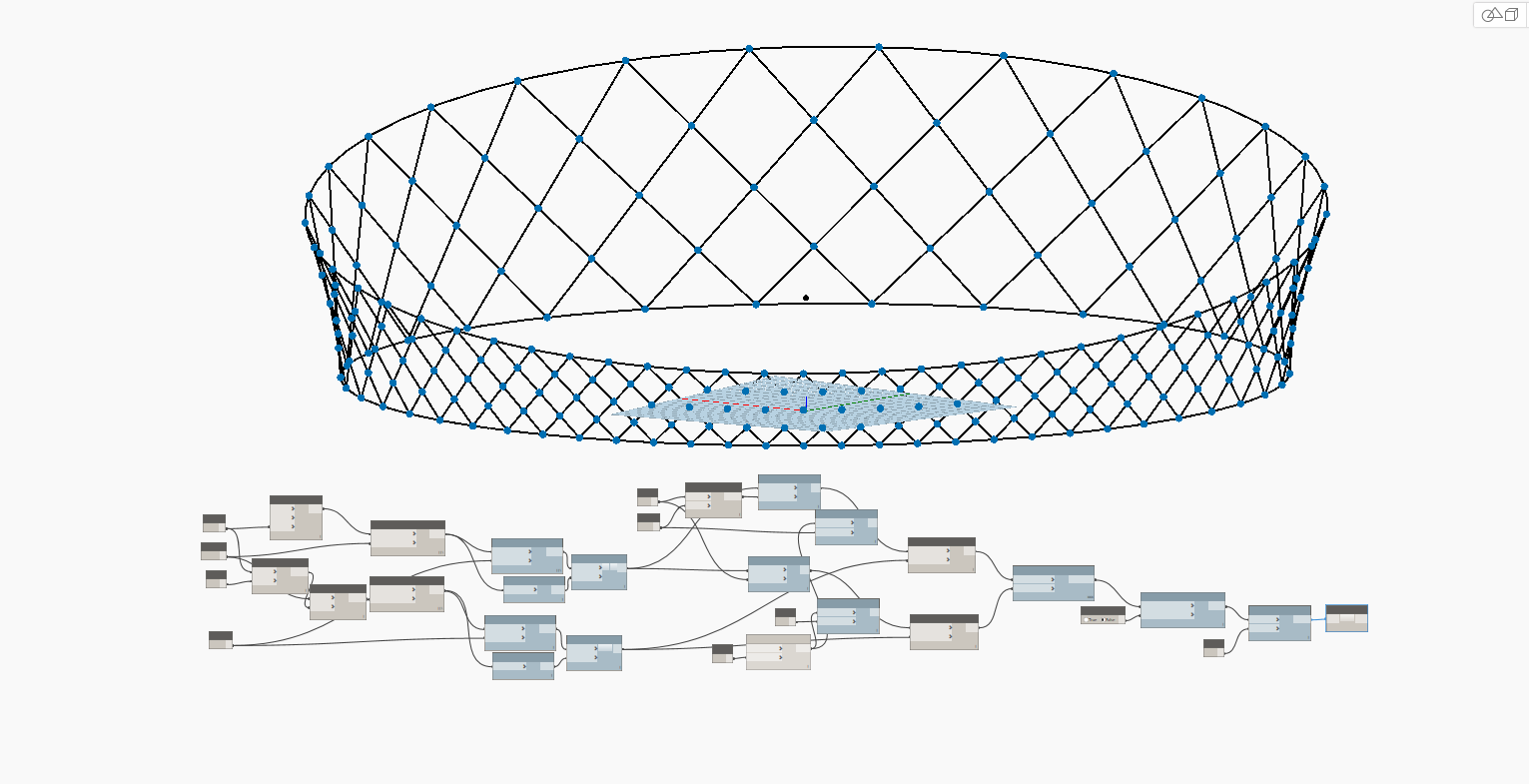 Volgograd Arena - Parametric design tutorial with Revit, Dynamo